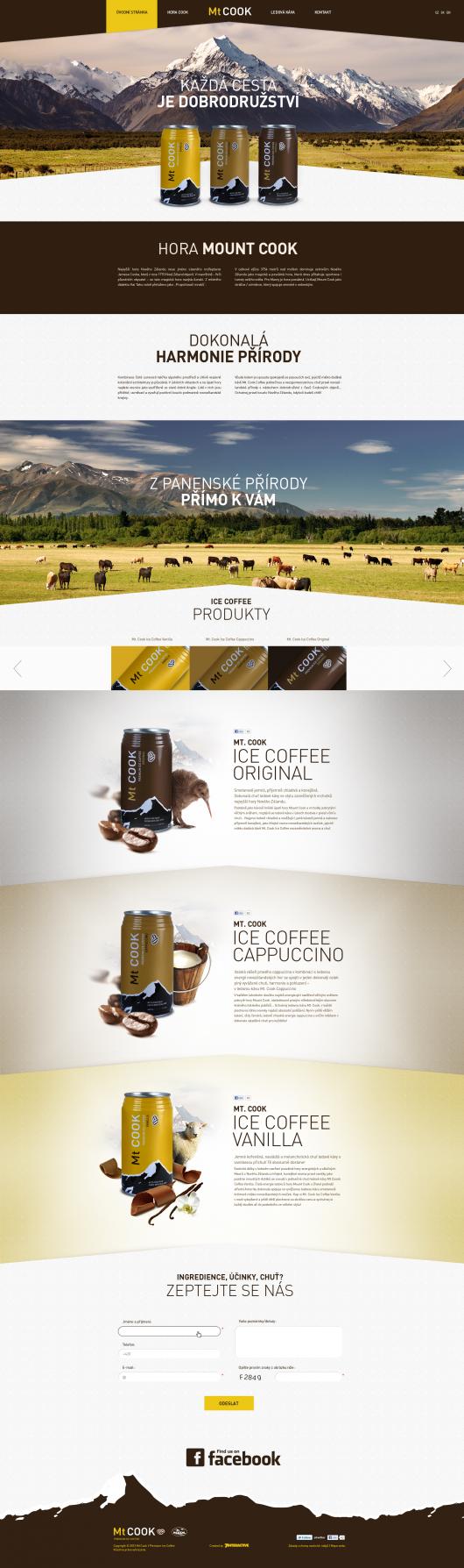Mt COOK Premium Ice Coffee